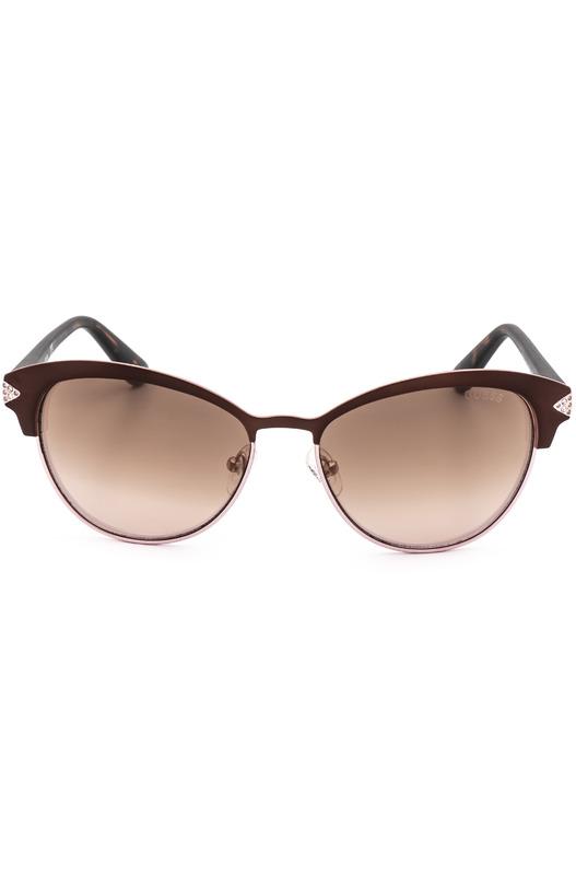 Солнцезащитные очки GU7515-S 49G коричневые