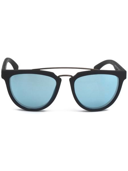 Солнцезащитные очки с голубыми линзами CKJ813S 001 Calvin Klein Jeans, фото