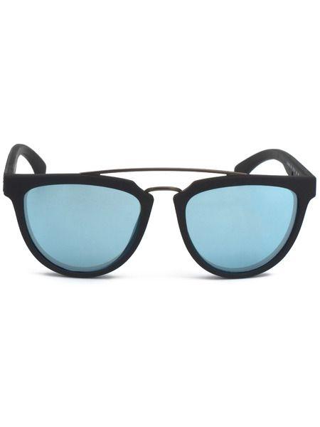 Солнцезащитные очки с голубыми линзами CKJ813S 001 Calvin Klein Jeans фото
