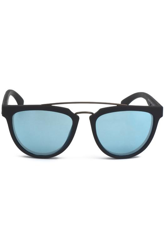 Солнцезащитные очки с голубыми линзами CKJ813S 001