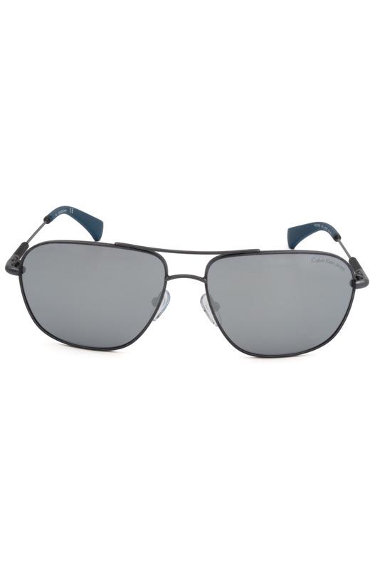 Солнцезащитные очки серого цвета CKJ153S 403 Calvin Klein Jeans, фото