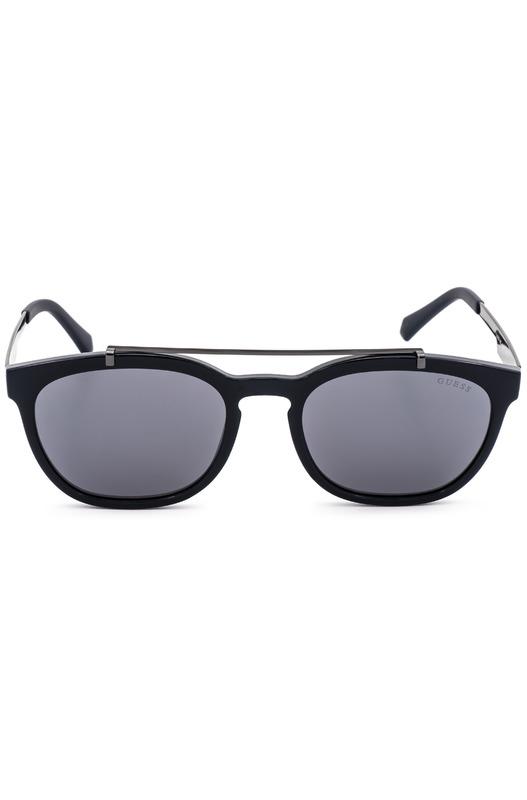 Солнцезащитные очки в черной оправе GU6907 90C Guess, фото