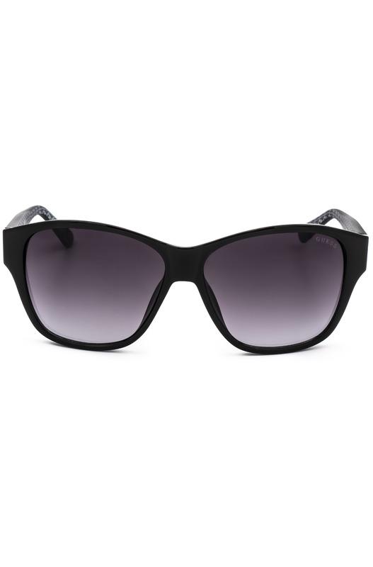 Солнцезащитные очки в черном цвете GU7412 01B Guess