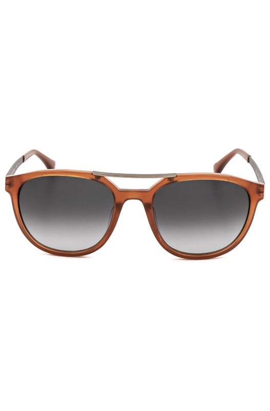Солнцезащитные очки в оранжевой оправе CK5872S 40317 273 Calvin Klein, фото