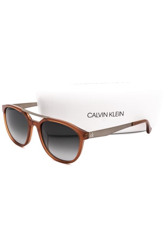 Солнцезащитные очки в оранжевой оправе CK5872S 40317 273 Calvin Klein