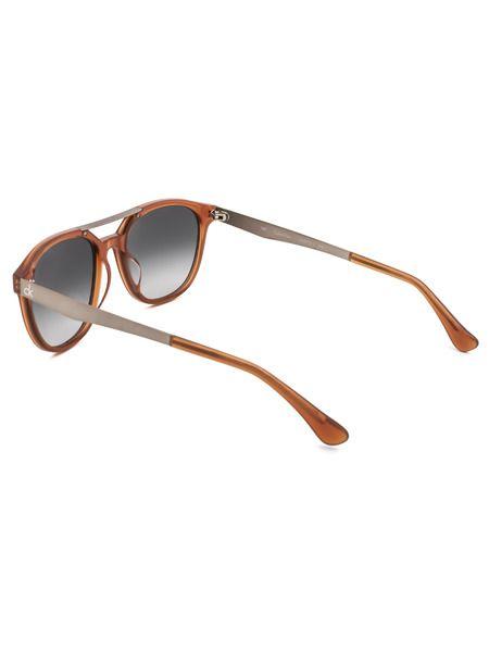 Солнцезащитные очки в оранжевой оправе CK5872S 40317 273