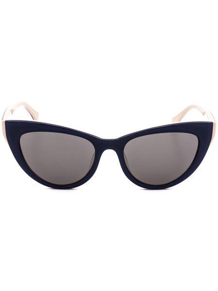 Солнцезащитные очки в синей оправе CK5934S 538 Calvin Klein фото