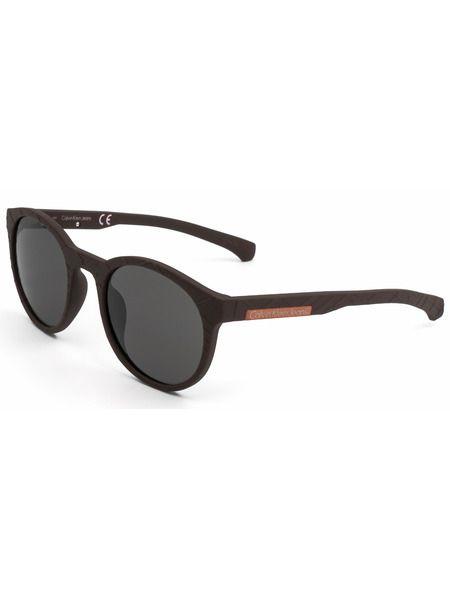 Солнцезащитные очки в толстой черной оправе CKJ799S 246