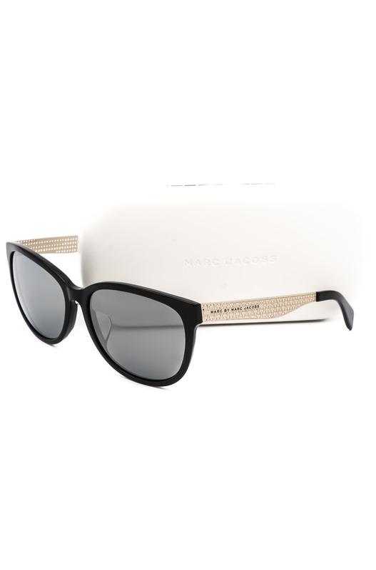 Солнцезащитные очки в толстой оправе черной оправе MMJ 448/F/S LHJ Marc Jacobs