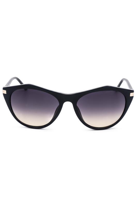 Солнцезащитные очки в толстой оправе CK18536S 410 Calvin Klein, фото