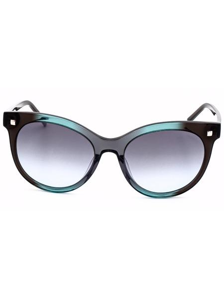 Солнцезащитные очки в толстой оправе CK4324S 073 Calvin Klein, фото