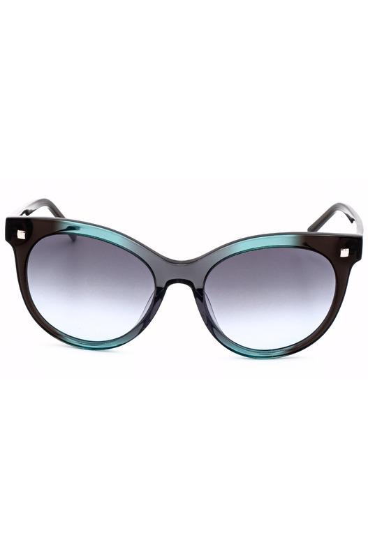 Солнцезащитные очки в толстой оправе CK4324S 073
