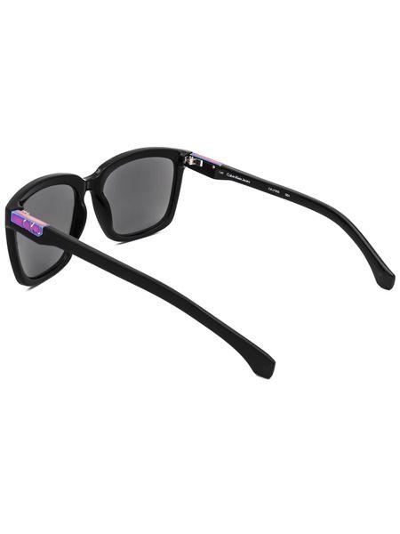 Солнцезащитные очки в толстой оправе CKJ750S 001
