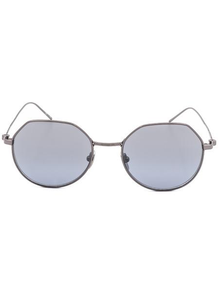 Круглые солнцезащитные очки в тонкой оправе CK18111S 39173 008 Calvin Klein, фото