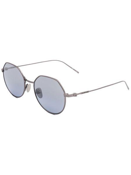 Круглые солнцезащитные очки в тонкой оправе CK18111S 39173 008