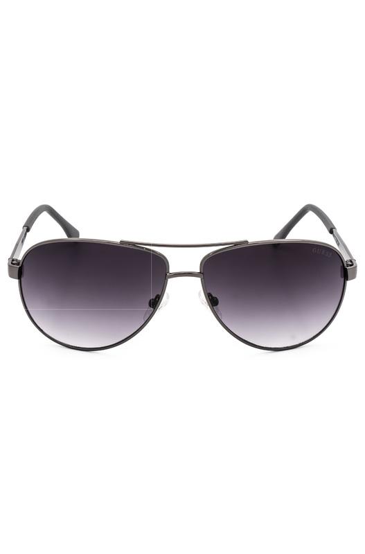 Солнцезащитные очки в тонкой оправе GU6829 J45