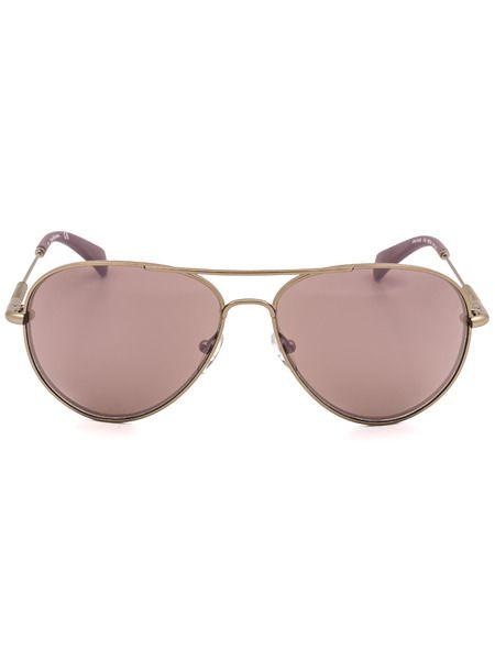 Солнцезащитные очки в золотистой оправе CKJ152S 702 Calvin Klein Jeans фото