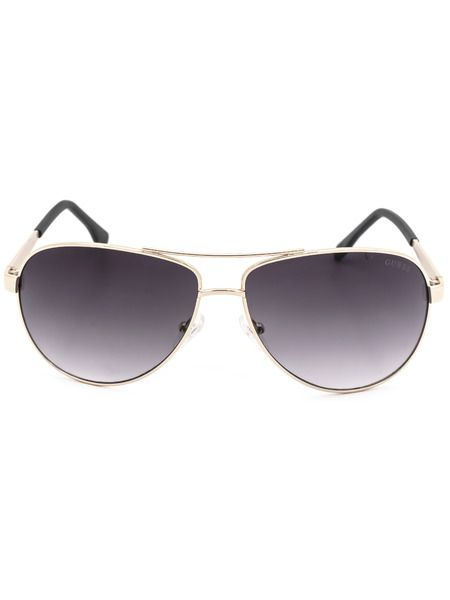 Солнцезащитные очки в золотистой оправе GU6829 H73 Guess фото