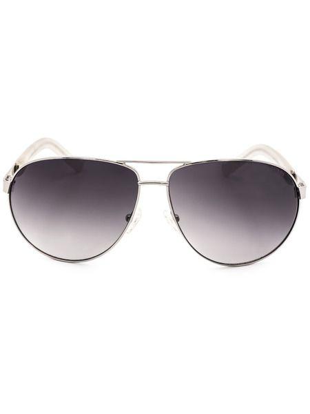 Солнцезащитные овальные очки GU6801 Q87 Guess фото