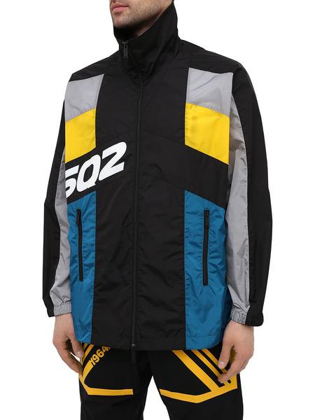 Разноцветный спортивный костюм в стиле колор-блок Dsquared2, фото