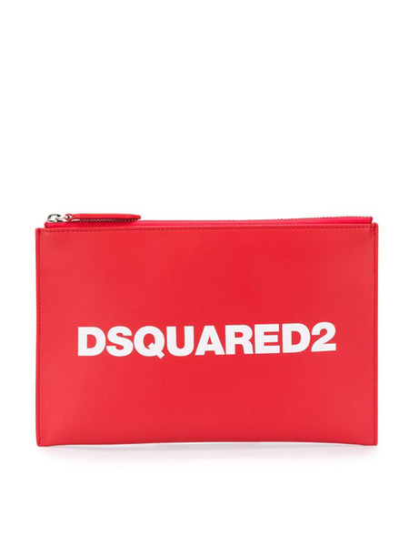 Сумка-клатч с логотипом Dsquared2, фото