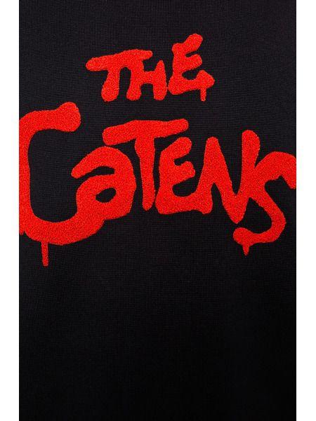 Свитер с вышивкой The Catens
