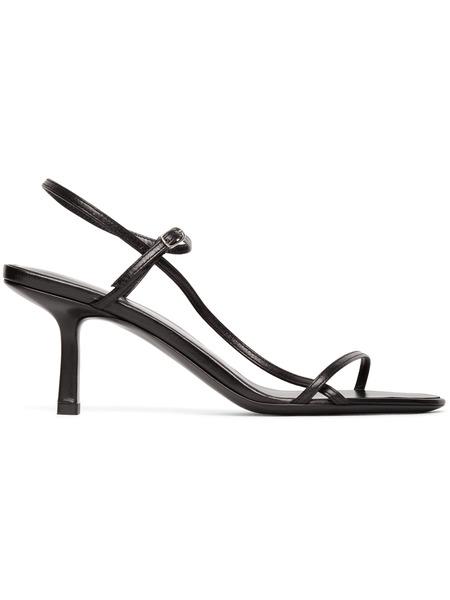 Черные босоножки на каблуке Bare 65MM The Row фото