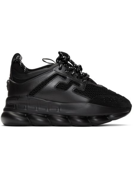 Черные кроссовки Versace Chain Reaction Versace фото