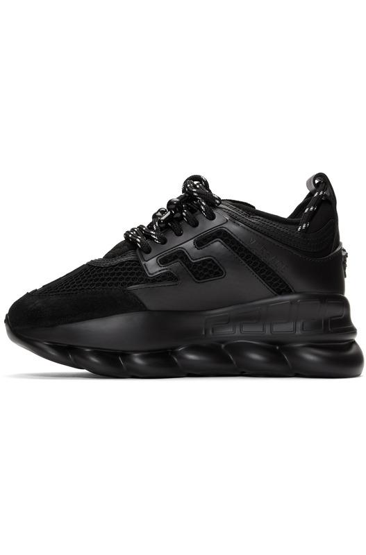 Черные кроссовки Versace Chain Reaction Versace, фото