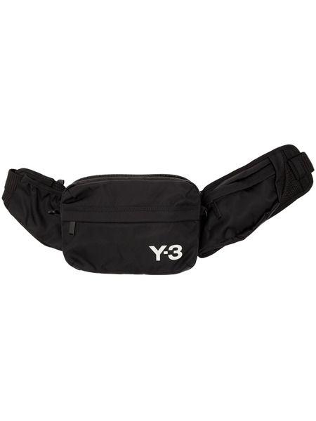 Черная сумка Sling Bag Y-3 фото