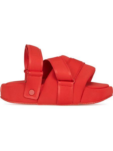 Красные босоножки Sandal Y-3 фото