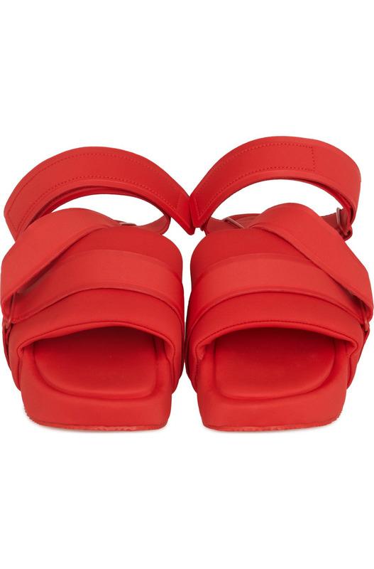 Красные босоножки Sandal Y-3, фото