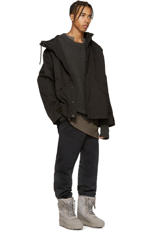 Шерстяной свитер Yeezy, фото
