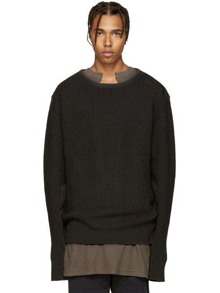Шерстяной свитер Yeezy фото