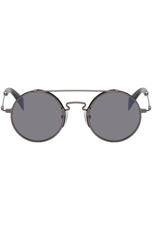 Черные солнцезащитные очки YY7018 Yohji Yamamoto, фото