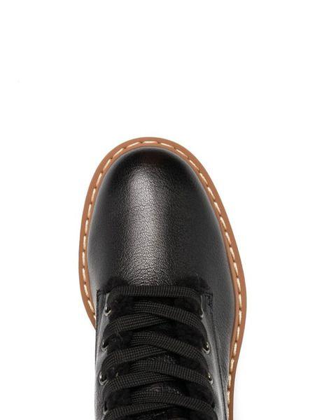 Зимние ботинки с мехом