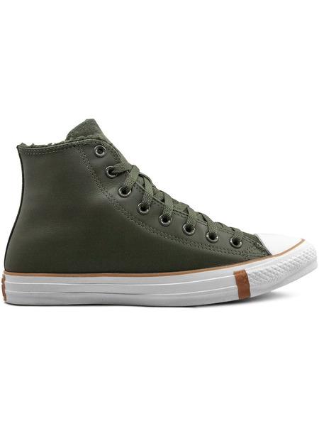 Зеленые кеды CTAS HI Converse, фото